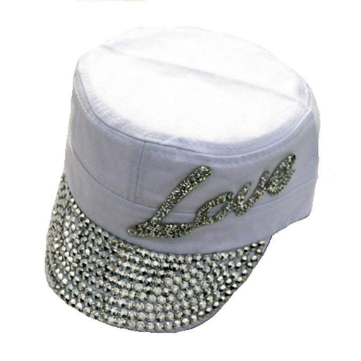 LOVE Studded Cadet Cap