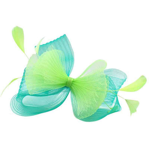 Pleated Crin Bow Fascinator -Something Special Colleciton