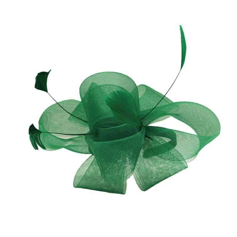 Loopy Tulle Bow Fascinator