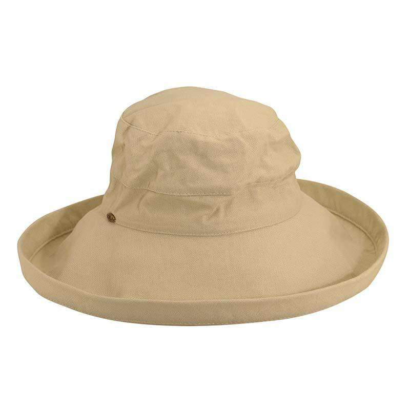 149192d52c9 Scala Cotton Up Turned Large Brim Golf Sun Hat for Women in 15+ Colors