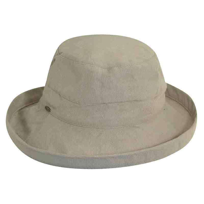 Scala Cotton Up Turned Brim Golf Hat