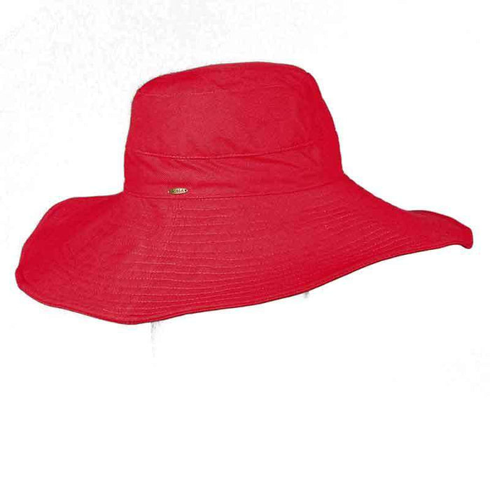 Linen Floppy Hat by Scala