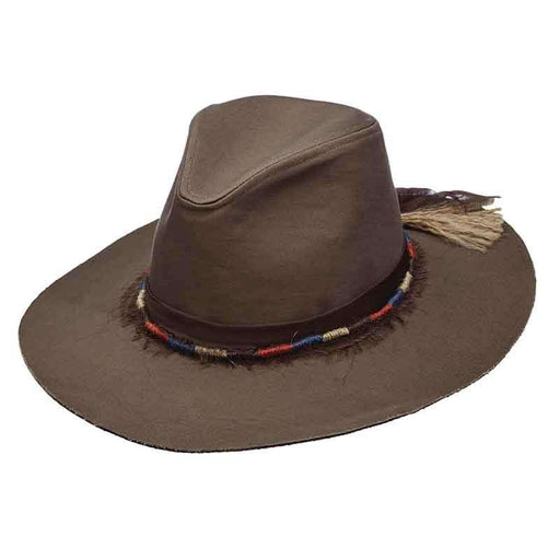 2938b7ee59bc1e Canvas Safari Hat with Jute Band for Women by Scala Pronto - SetarTrading  Hats