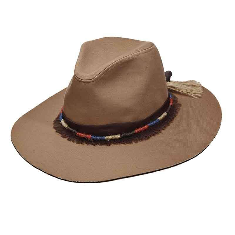 afeb6dbfc12 Canvas Safari Hat with Jute Band for Women by Scala Pronto - SetarTrading  Hats