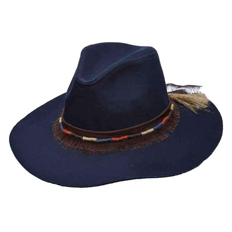 Canvas Safari Hat with Jute Band for Women by Scala Pronto - SetarTrading Hats