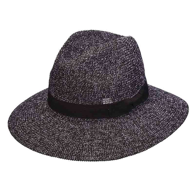 Tweed Knit Toyo Safari Hat for Women - Scala Pronto