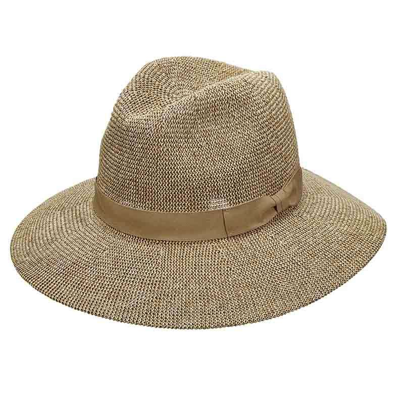 Tweed Knit Toyo Safari Hat for Women - Scala Pronto - SetarTrading Hats