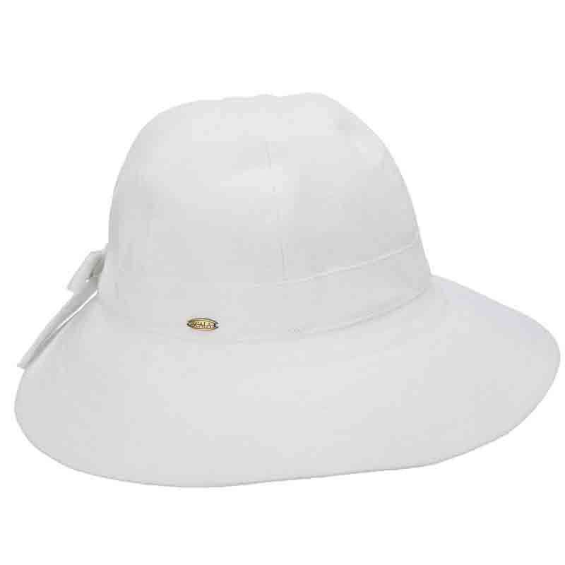 Cotton Facesaver Hat with Bow - Scala - SetarTrading Hats