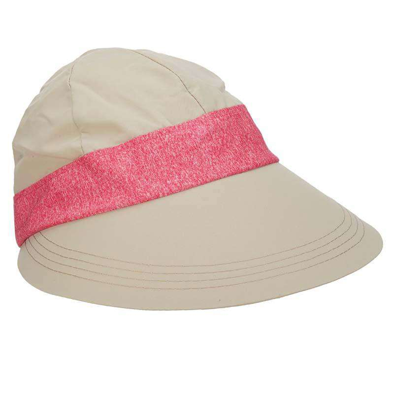 Facesaver Cap with Contrast Band - Tropical Trends Women s Golf Caps a19ea8b642e0
