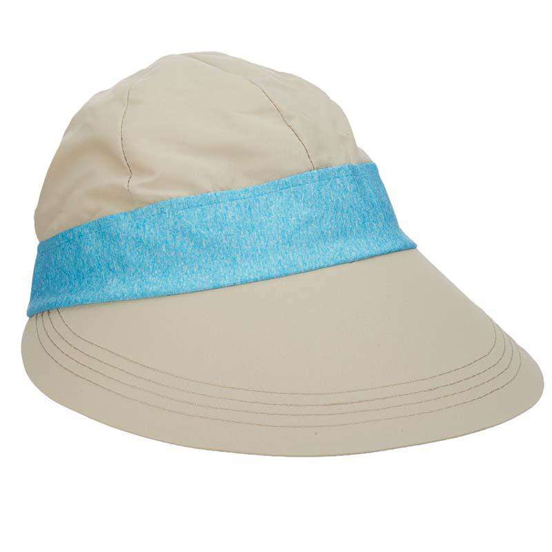 Facesaver Cap with Contrast Band - Tropical Trends - SetarTrading Hats