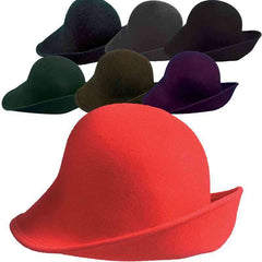 Wool Felt Shapeable Hat by Scala