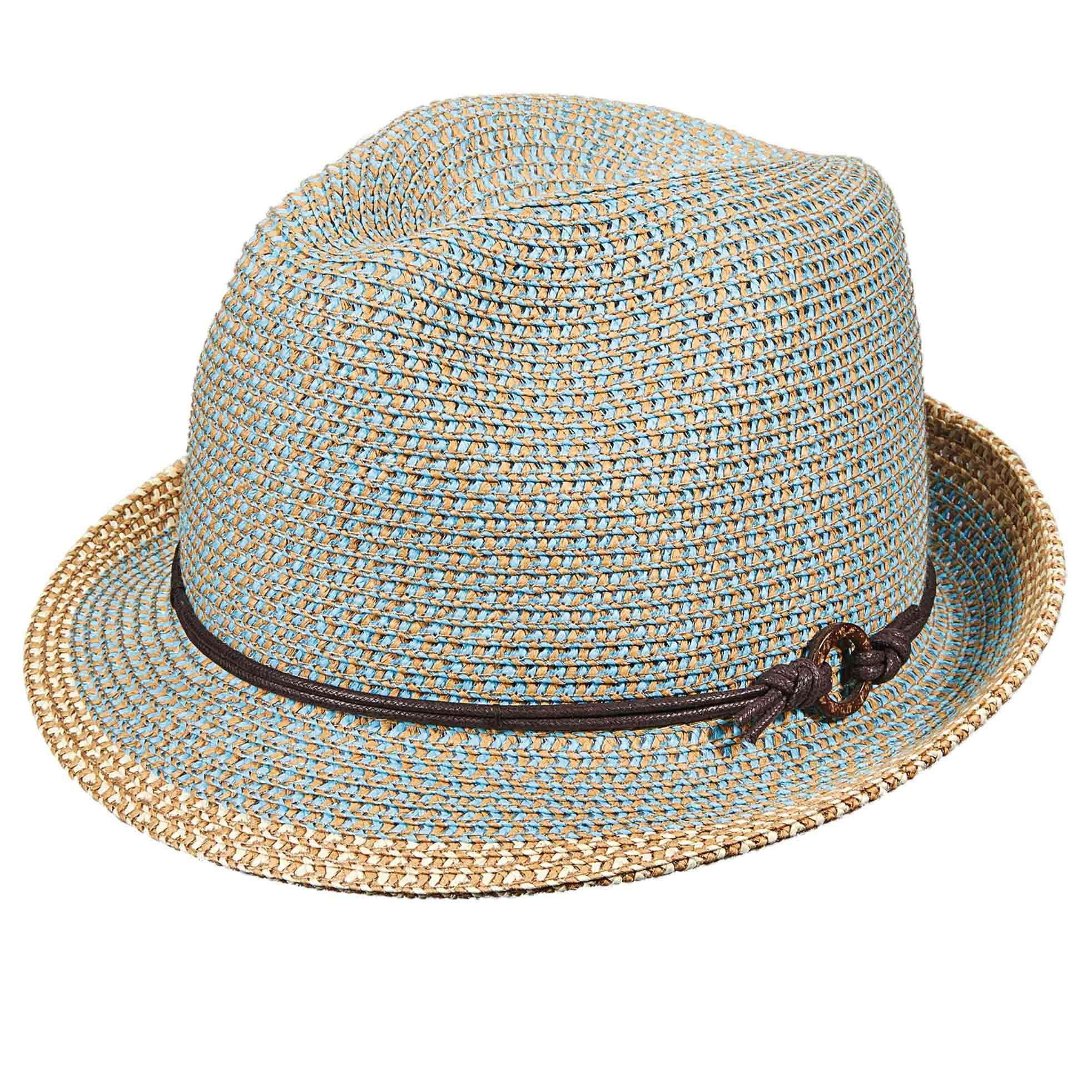 Colorful Tweed Fedora by Scala - SetarTrading Hats