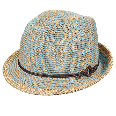 Colorful Tweed Fedora by Scala