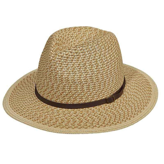 Mix Braid Safari Hat with Leatherette Band - Tropical Trends - SetarTrading Hats