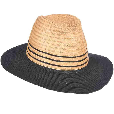 Striped Band Braid Safari Hat - Tropical Trends