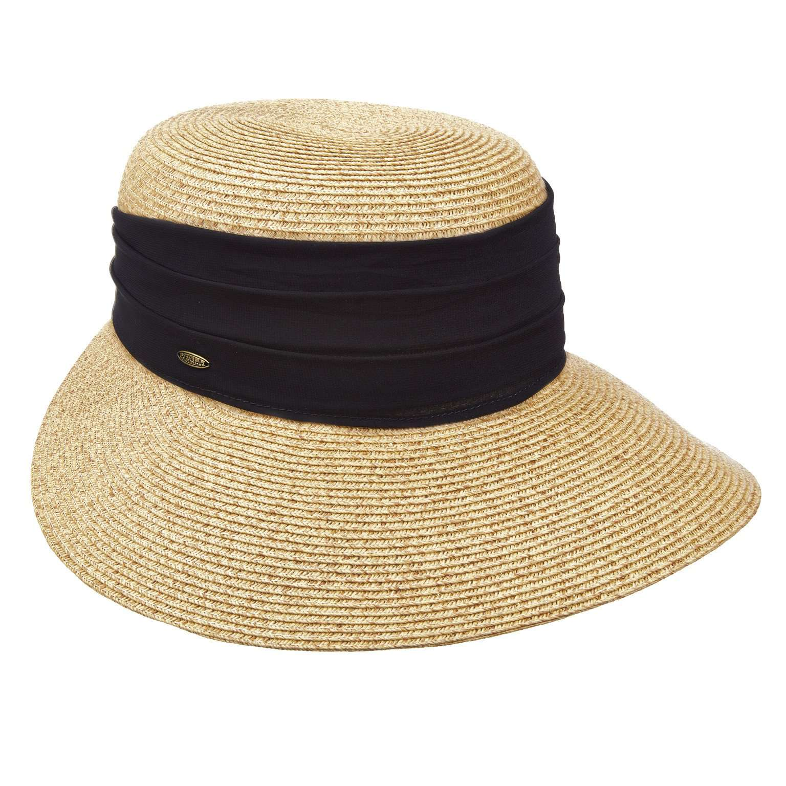 Facesaver with Wide Chiffon Band - Scala - SetarTrading Hats