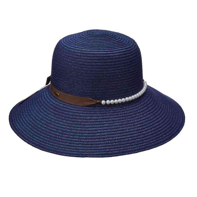 Scala Summer Hat with Pearl Beads - SetarTrading Hats