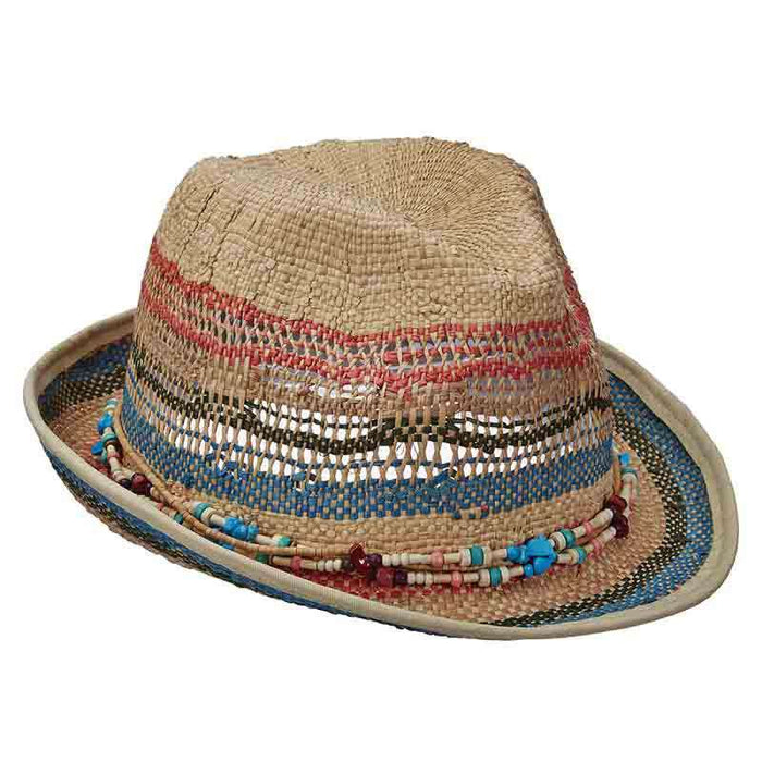 Bangkok Raffia Fedora by Scala - SetarTrading Hats