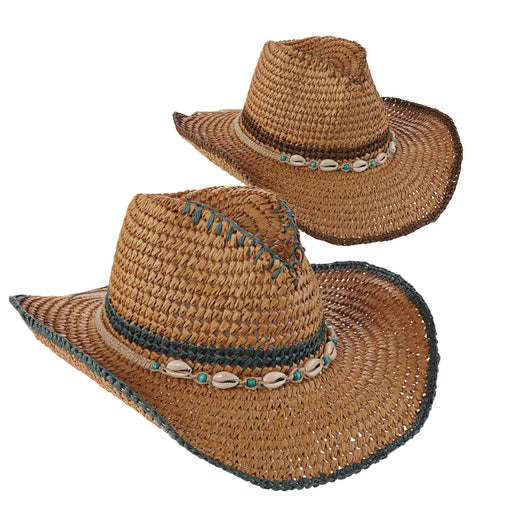 Tropical Trends Crocheted Toyo Western - SetarTrading Hats
