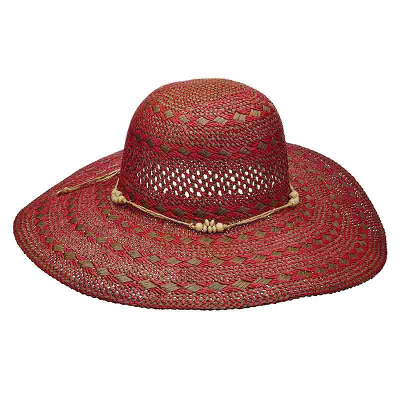 Woven Toyo Summer Floppy Hat - Scala Pronto