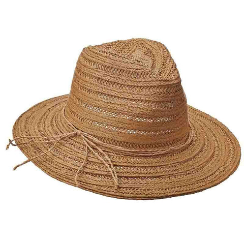 Milan Woven Safari Hat by Tropical Trends