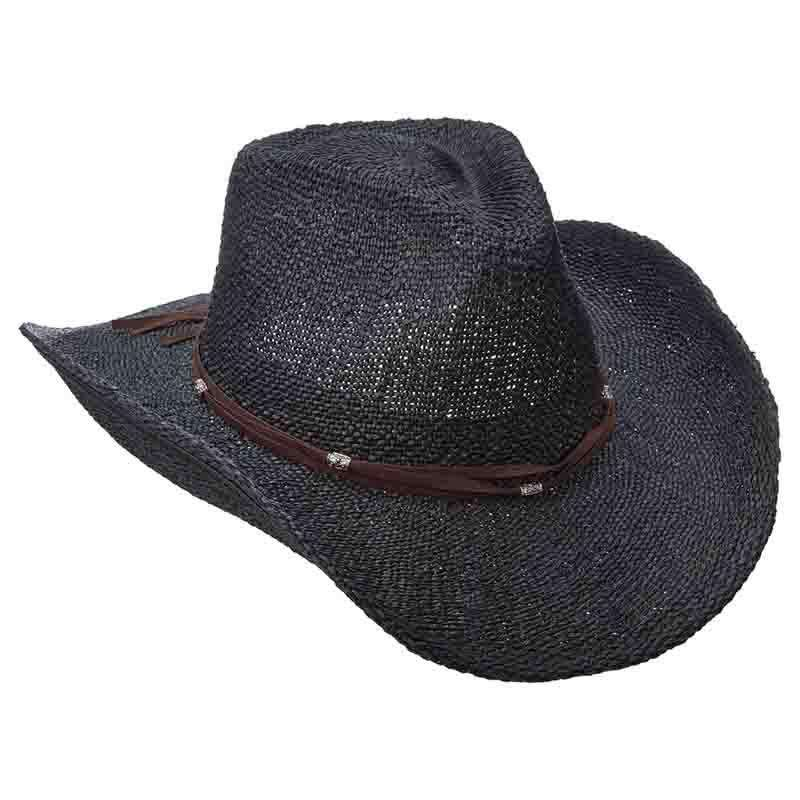 Bangkok Toyo Western with Suede Band - Scala - SetarTrading Hats