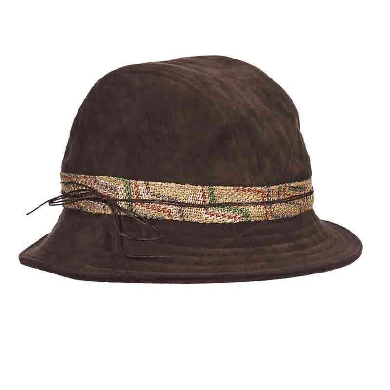 Suede-Look Women's Bucket Hat - Callanan
