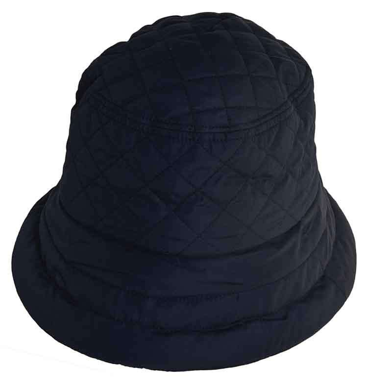 Connecticut Lady Quilted Rain Hat with Fleece Lining - Scala Collezion - SetarTrading Hats