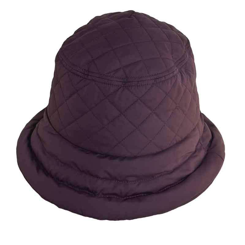5df43849b86 Connecticut Lady Quilted Rain Hat with Fleece Lining - Scala Collezion -  SetarTrading Hats