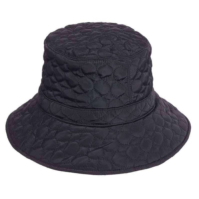 Fleece Lined Quilted Rain Hat - Scala Collezion - SetarTrading Hats