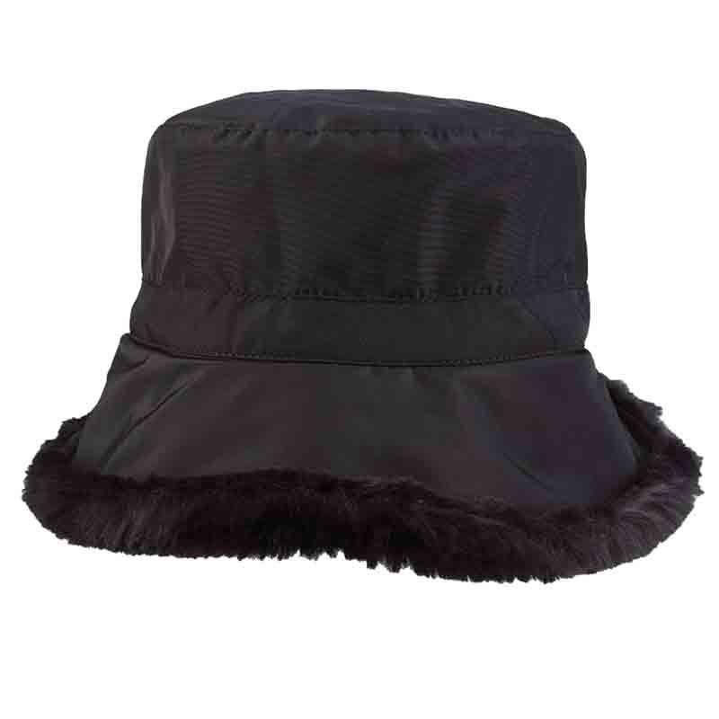 Faux Fur Lined Winter Cloche Hat - Scala Collezion - SetarTrading Hats