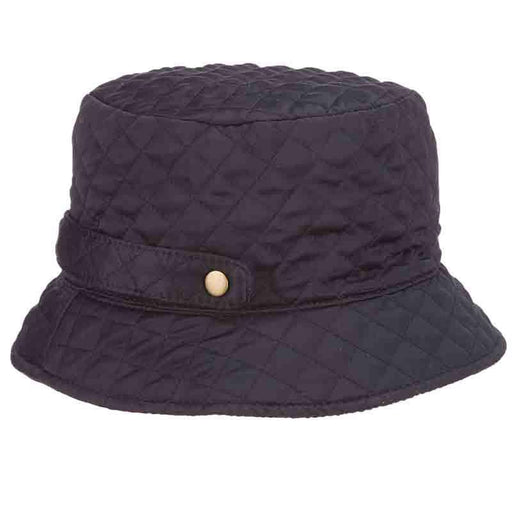 Quilted Roll Up Rain Hat - Scala Collezion