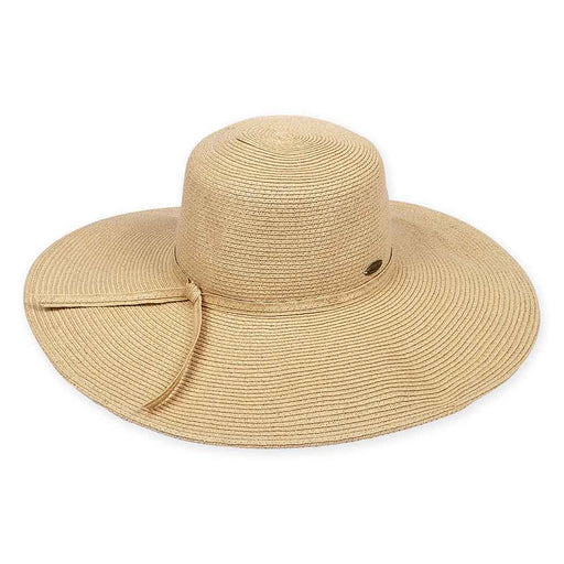 Large Hat Size: Extra Wide Brim Beach Hat - Sun'N'Sand®