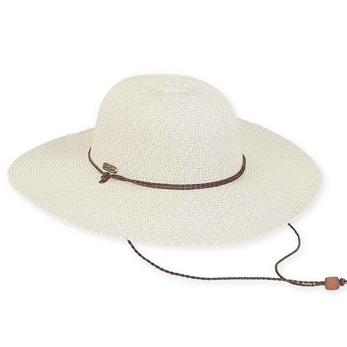 Large Heads Classic Wide Brim Straw Beach Hat - Sun'N'Sand®