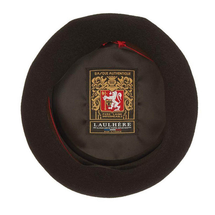 Laulhere Basque Authentique French Wool Beret - Heritage Par Laulhere
