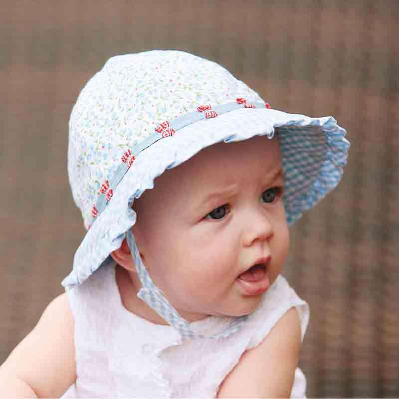 Lorikeet Girl's Bucket Hat - Wallaroo Hats for Kids