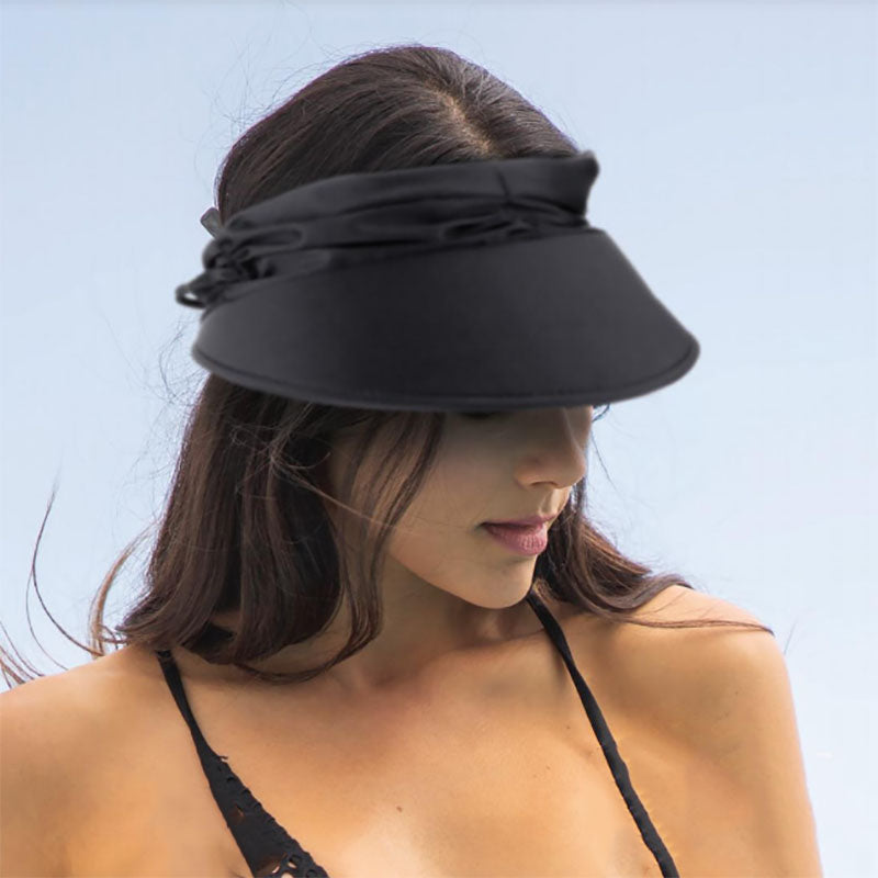 Lycra Swimsuit Sun Visors in Fashion Colors - Tropical Trends