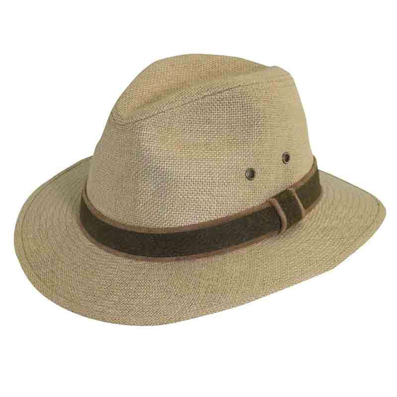 58bcb0a5b37 DPC Outdoor Hemp Safari Hat - Summer Headwear for Men
