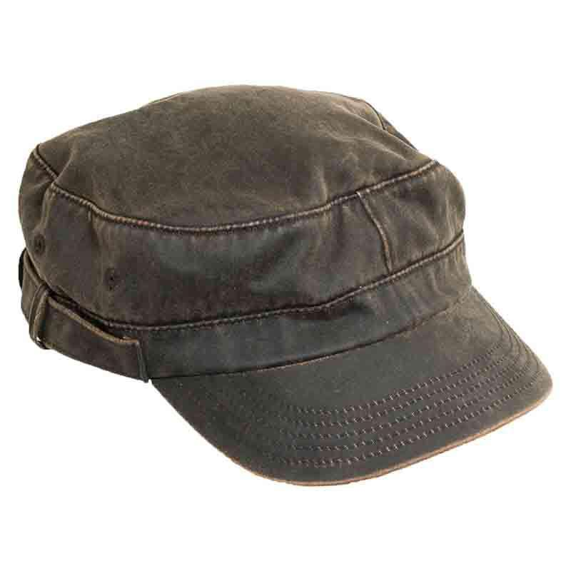 Weathered Cotton Cadet Cap by DPC Outdoor