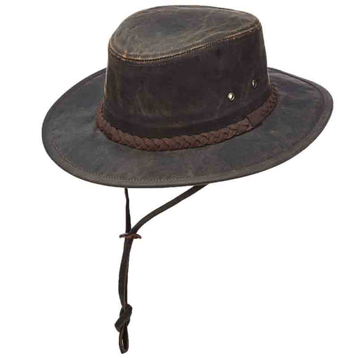 Weathered Cotton Aussie Outback Hat by DPC Outdoor Design