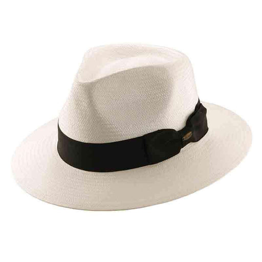 Men's Panama Hat, White - Scala Collection Hats
