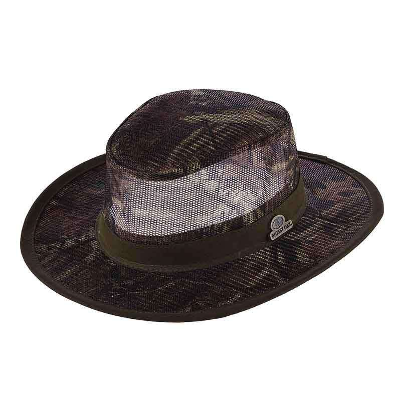 Mossy Oak Wide Brim Mesh Crown Safari -Infinity - SetarTrading Hats