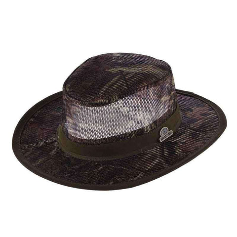 Mossy Oak Wide Brim Mesh Crown Safari -Infinity