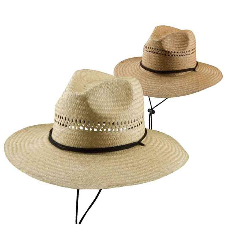 92c95bea8 Palm Fiber Lifeguard Hat with Chin Cord by DPC