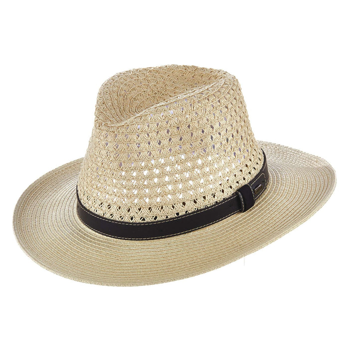 SCALA Vent Toyo Outback Leather Cord HAT