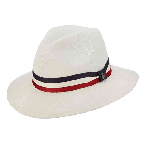 Safari Hat with Red, White and Blue Ribbon Band - DPC 1921