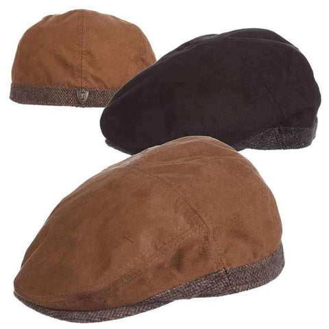 Faux Suede and Wool Ivy Cap - DPC 1921