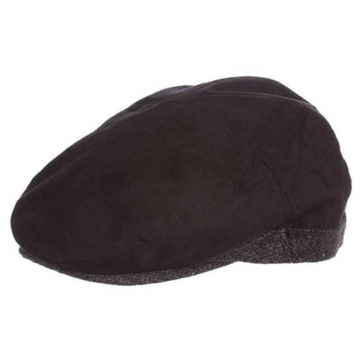 Faux Suede and Wool Ivy Cap - DPC 1921 - SetarTrading Hats