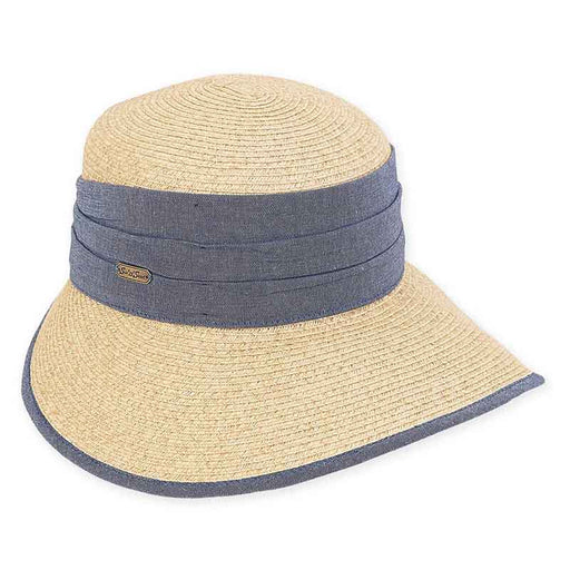 Maya Sun Savor Hat with Denim Band - Sun 'n' Sand®