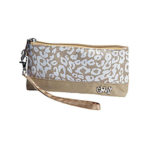 Uptown Cheetah Wristlet by GloveIt